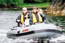 Ketchikan Zodiac Boat