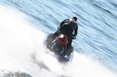 King's Wharf Jet Skiing cruise excursion