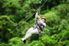 Labadee Ziplining cruise excursion