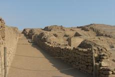 Lima Pachacamac Ruins
