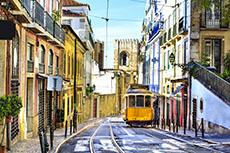 Lisbon Alfama Quarter