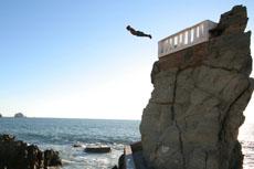 Mazatlan Cliff Diving Show