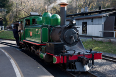 Melbourne Puffing Billy Train cruise excursion