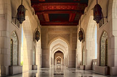 Muscat Sultan Qaboos Grand Mosque