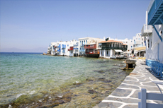 Mykonos Little Venice cruise excursion