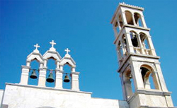 Mykonos Panagia Tourliani Monastery cruise excursion