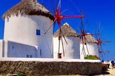Mykonos Windmills Walking Tour cruise excursion
