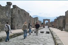 Naples Pompeii Walking Tour