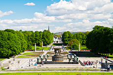 Oslo Vigeland Sculpture Park cruise excursion
