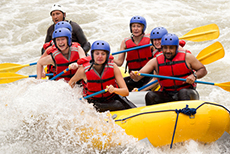 Puerto Limon White Water Rafting cruise excursion