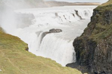 Reykjavik Gullfoss Waterfall