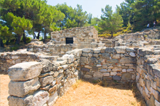 Rhodes Ruins of Kameiros cruise excursion