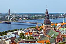 Riga City Tour cruise excursion