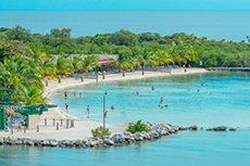 Roatan Beach Day cruise excursion
