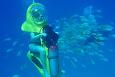 Roatan Boss Underwater Adventure cruise excursion