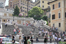 Rome (Civitavecchia) Spanish Steps