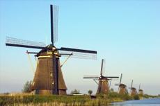 Rotterdam Windmills of Kinderdijk