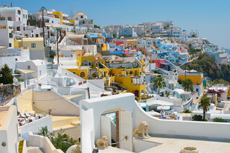 Santorini Fira Walking Tour cruise excursion