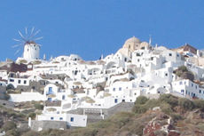 Santorini Oia Village  cruise excursion