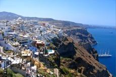 Santorini Pyrgos Village cruise excursion
