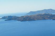 Santorini Volcano Hiking cruise excursion