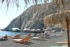 Santorini Beach Break cruise excursion