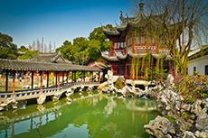 Shanghai Yu Gardens cruise excursion
