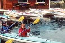 Sitka Kayaking cruise excursion