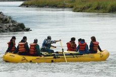 Skagway Rafting cruise excursion
