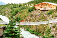 Skagway Yukon Suspension Bridge