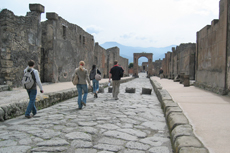 Sorrento Pompeii Walking Tour cruise excursion