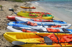 St. Kitts Kayaking cruise excursion