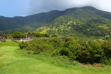 St. Kitts Mount Liamuiga Volcano