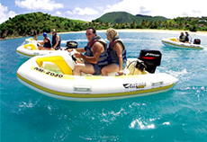 St. Martin Inflatable Watercraft cruise excursion