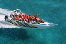 St. Martin Speedboat Tour cruise excursion