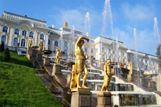 St. Petersburg Peterhof Palace cruise excursion