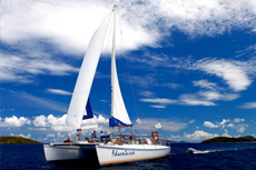 St. Thomas Catamaran Tour cruise excursion