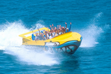 St. Thomas Jet Boat Ride cruise excursion