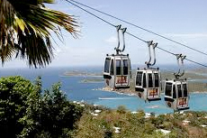St. Thomas Paradise Point Skyride