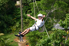 St. Thomas Ziplining cruise excursion