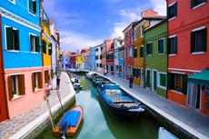 Venice Burano Island