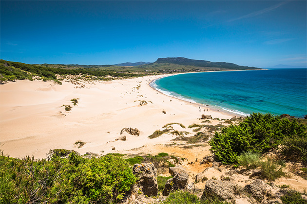 Bolonia Beach, from Gibraltar or Seville (Cadiz), Spain