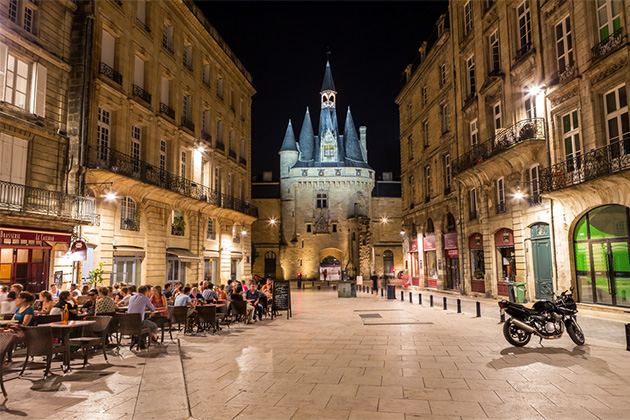 Day One: Bordeaux at Night