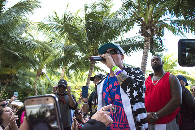 Vanilla Ice's Surprise Beach Party