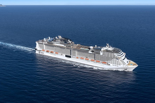 MSC Bellissima, March 2019, and MSC Grandiosa, October 2019