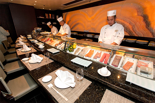 Best Sushi: The Sushi Bar (Umi Uma)