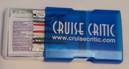 Cruise Critic First Aid Kit