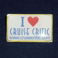Cruise Critic Pin