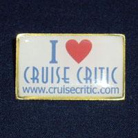 Cruise Critic Pin
