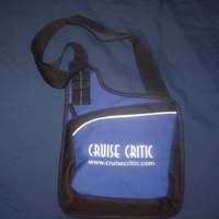 Cruise Critic Shoulder Travel Bag